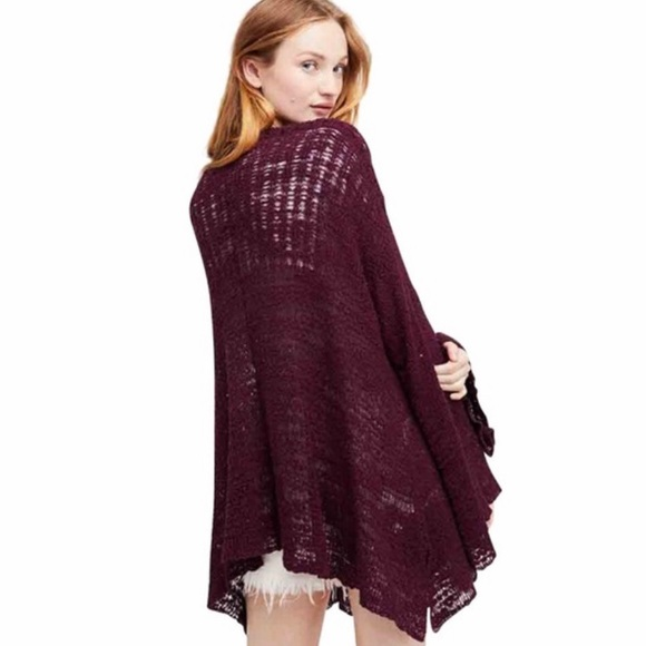 FREE PEOPLE In My Element Open Front Cardigan-M
